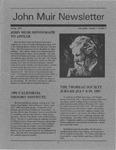 John Muir Newsletter, Spring 1991