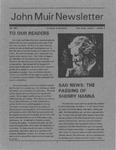 John Muir Newsletter, Fall 1991