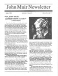 John Muir Newsletter, Winter 1992 by John Muir Center for Regional Studies