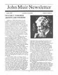 John Muir Newsletter, Spring 1992 by John Muir Center for Regional Studies
