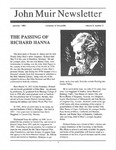 John Muir Newsletter, Summer 1992