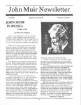 John Muir Newsletter, Fall 1993 by John Muir Center for Regional Studies