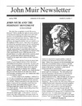 John Muir Newsletter, Spring 1994 by John Muir Center for Regional Studies