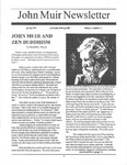 John Muir Newsletter, Spring 1995 by John Muir Center for Regional Studies