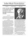 John Muir Newsletter, Summer 1995 by John Muir Center for Regional Studies