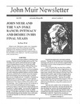 John Muir Newsletter, Fall 1995