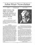 John Muir Newsletter, Fall 1995 by John Muir Center for Regional Studies