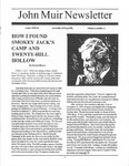 John Muir Newsletter, Winter 1995/96 by John Muir Center for Regional Studies