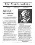 John Muir Newsletter, Summer 1996 by John Muir Center for Regional Studies
