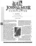 The John Muir Newsletter, Winter 1996/97 by The John Muir Center for Regional Studies