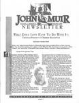 The John Muir Newsletter, Summer 1997 by The John Muir Center for Regional Studies