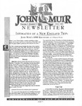 The John Muir Newsletter, Fall 1997 by The John Muir Center for Regional Studies