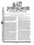The John Muir Newsletter, Winter 1998 by The John Muir Center for Regional Studies