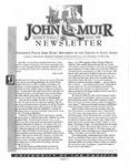 The John Muir Newsletter, Spring 1998 by The John Muir Center for Regional Studies