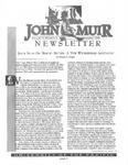 The John Muir Newsletter, Summer 1998 by The John Muir Center for Regional Studies