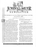 The John Muir Newsletter, Winter 1998/99 by The John Muir Center for Regional Studies