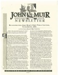 The John Muir Newsletter, Spring 1999
