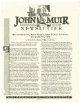 The John Muir Newsletter, Spring 1999 by The John Muir Center for Regional Studies