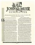 The John Muir Newsletter, Summer 1999 by The John Muir Center for Regional Studies