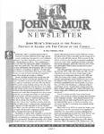 The John Muir Newsletter, Fall 1999 by The John Muir Center for Regional Studies