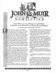 The John Muir Newsletter, Winter 2000