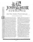 The John Muir Newsletter, Spring 2000 by The John Muir Center for Regional Studies