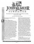 The John Muir Newsletter, Summer 2000 by The John Muir Center for Regional Studies
