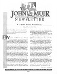 The John Muir Newsletter, Winter 2000/2001 by The John Muir Center for Regional Studies