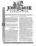 The John Muir Newsletter, Fall 2001