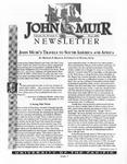 The John Muir Newsletter, Fall 2001 by The John Muir Center for Regional Studies