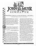 The John Muir Newsletter, Winter 2001/2002 by The John Muir Center