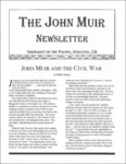 The John Muir Newsletter, Fall 2002 by The John Muir Center for Environmental Studies