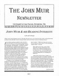 The John Muir Newsletter, Fall 2003 by The John Muir Center for Environmental Studies
