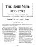 The John Muir Newsletter, Winter 2003/2004 by The John Muir Center for Environmental Studies