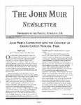 The John Muir Newsletter, Fall 2004 by The John Muir Center for Environmental Studies