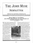 The John Muir Newsletter, Winter 2004/2005 by The John Muir Center for Environmental Studies