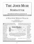 The John Muir Newsletter, Spring 2005 by The John Muir Center for Environmental Studies