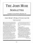 The John Muir Newsletter, Fall 2005