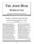 The John Muir Newsletter, Winter 2005/2006 by The John Muir Center for Environmental Studies
