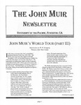 The John Muir Newsletter, Spring/Summer 2006 by The John Muir Center for Environmental Studies