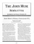 The John Muir Newsletter, Fall 2006 by The John Muir Center for Environmental Studies