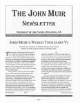 The John Muir Newsletter, Spring/Summer 2007 by The John Muir Center for Environmental Studies