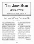The John Muir Newsletter, Winter 2007/2008