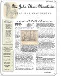 The John Muir Newsletter, Winter 2010/2011