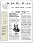 The John Muir Newsletter, Fall/Winter 2011/2012