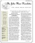 The John Muir Newsletter, Spring/Summer 2012
