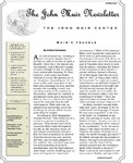 The John Muir Newsletter, Spring 2013