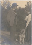 John Muir with Helen Muir, Martinez, California