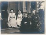 Wanda, Helen, Louie and John Muir at home in Martinez, California