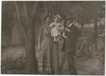 Wanda and Richard Hanna and John Muir, Martinez, California